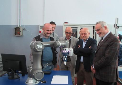 La visita del consigliere Maurizio Marello ad Apro Formazione (Alba) nel settembre 2019