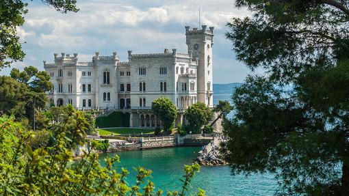 Il Castello di Miramare a Trieste (Ph. Wiki Commons)