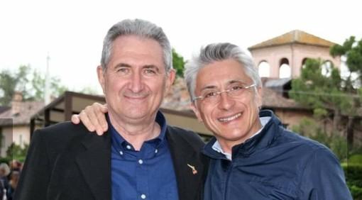 L'assessore Marco Marcarino col sindaco Bo (foto per gentile concessione di Alice Ferrero Image)