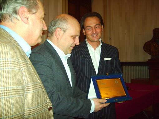 Maurizio Marello e Alberto Cirio in una foto di repertorio