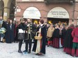 Saluzzo, l'omaggio alla castellana