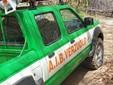 Mezzo della squadra AIB e di Protezione civile di Verzuolo