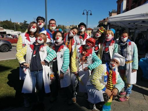 Alcuni Clown dell'associazione Mondo-VIP ODV (Foto repertorio)
