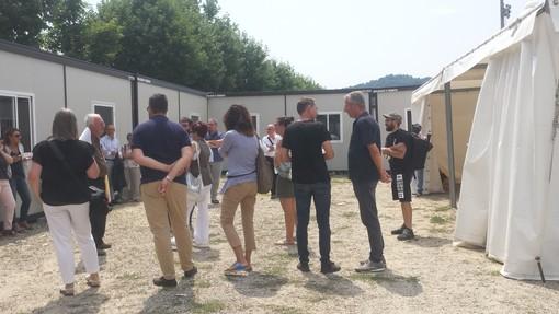 Saluzzo, mini campo nell'area sportiva Damiano
