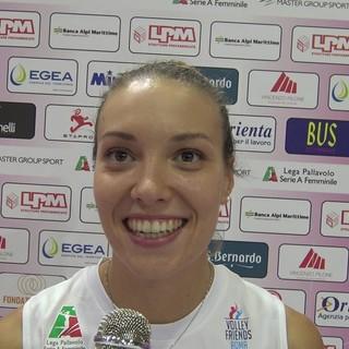 La giocatrice della Sicilia Catania Martina Bordignon