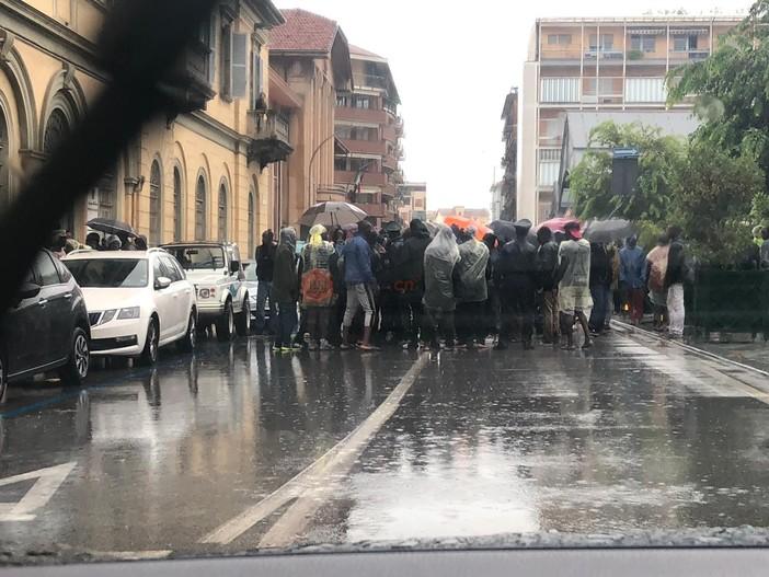 La protesta del 15 luglio scorso