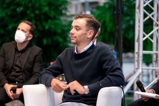 Matteo Sobrero alla serata Atl. foto Ninotto