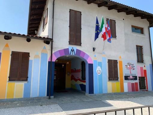 A Murazzano la scuola cambia veste e si tinge di nuovi colori