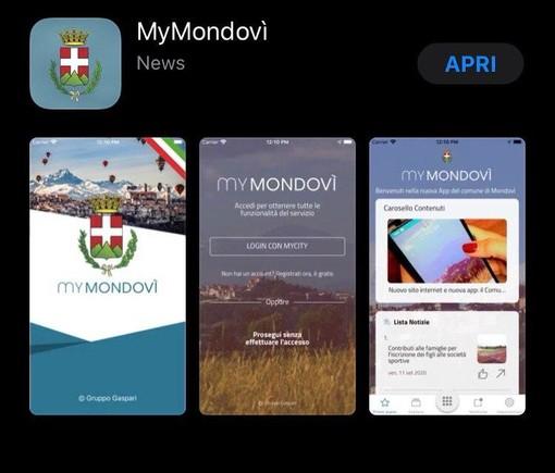 Da oggi è possibile scaricare la nuova app del comune di Mondovì