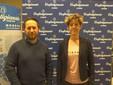 Movimento Giovani – Da sinistra: Valerio Floris (delegato zonale Movimento Giovani Imprenditori), Daniela Bruno (vicedelegata)