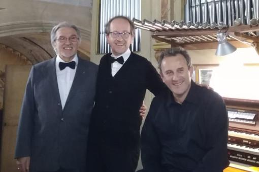 Il Trio che eseguirà il concerto spirituale