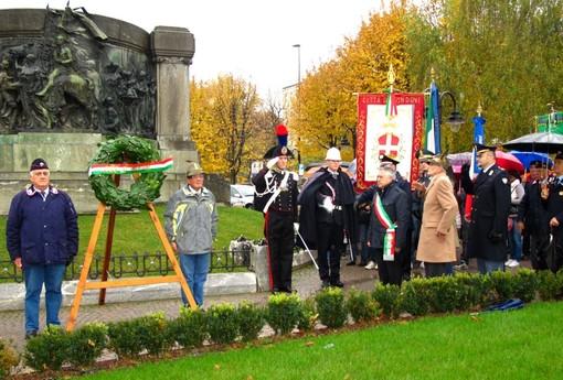 Alcune immagini delle celebrazioni del IV novembre a Mondovì