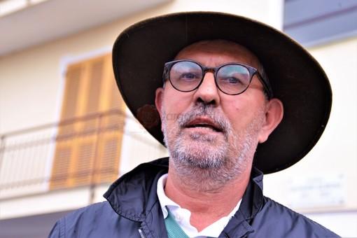 Il sindaco di Martiniana Po, Valderico Berardo