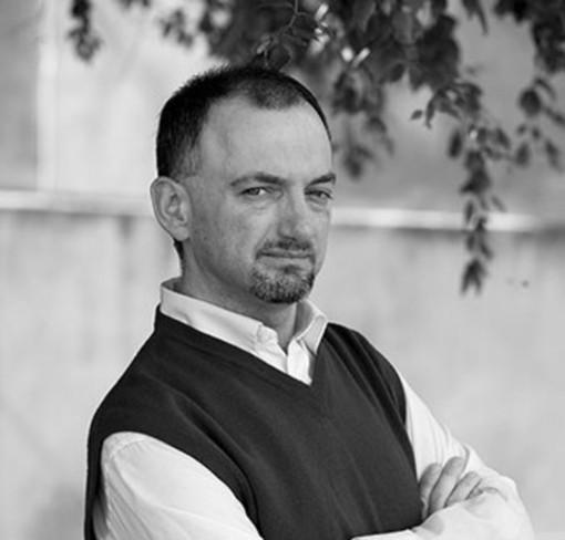 Lo scrittore Nicola Duberti