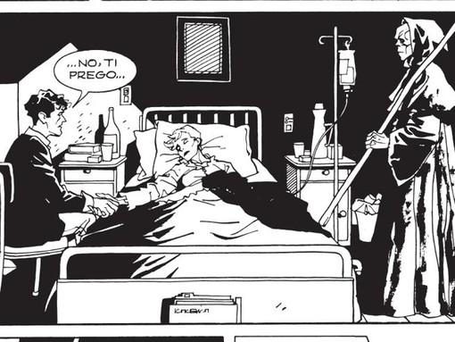 """Una vignetta dal numero 88 della serie """"Dylan Dog"""""""