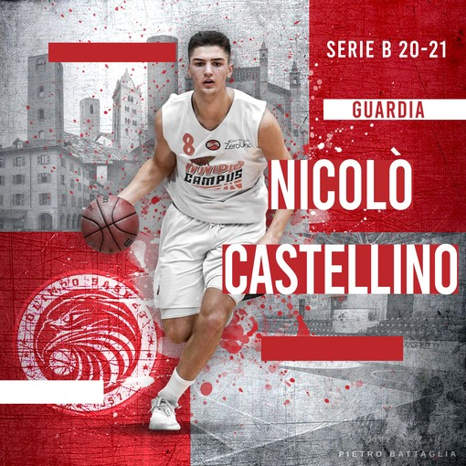 Nicolò Castellino - PH Pietro Battaglia - Ufficio Stampa Olimpo Basket Alba