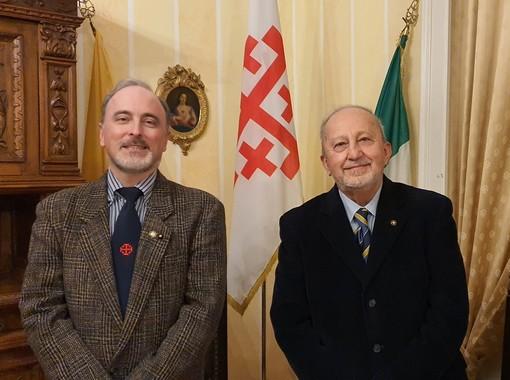 Da sinistra, Massimiliano Gosio e Sergio Petitti