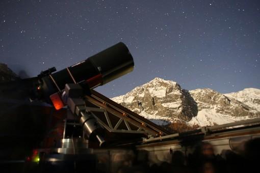 All'osservatorio astronomico di Bellino per ammirare il passaggio delle Leonidi