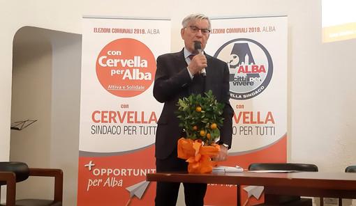 Olindo Cervella, l'imprenditore candidato dalle forze del centrosinistra albese