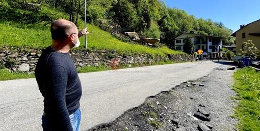 Il sopralluogo di stamane del sindaco Vaudano e le operazioni di svuotamento della cisterna di gas interrata - Copyright Targatocn.it
