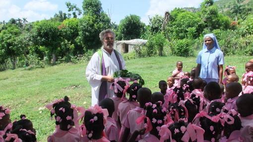 Anche in missione ad Haiti si legge Targatocn... e voi?