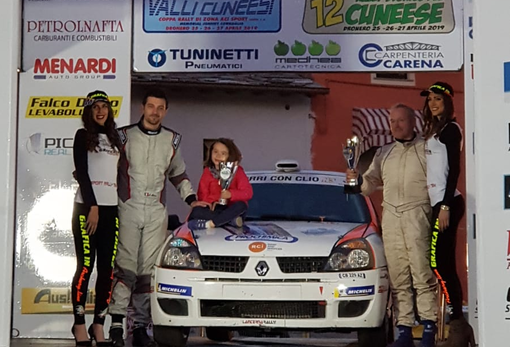 Motori - L'equipaggio formato da Sergio Patetta e Alessandro Alocco pronto per il 4°Rally del Grappolo