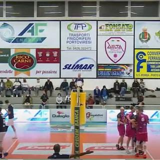 Volley A2/M: Il Vbc Synergy Mondovì torna da Porto Viro con una sconfitta per 3-1 e tanto rammarico