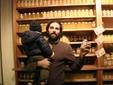 Il punto vendita del miele in azienda