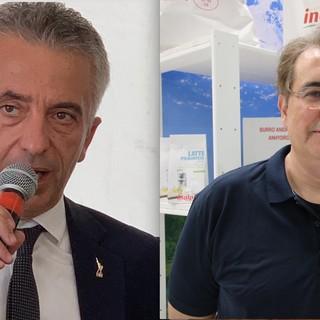 L'assessore regionale Protopapa e il presidente Inalpi Invernizzi