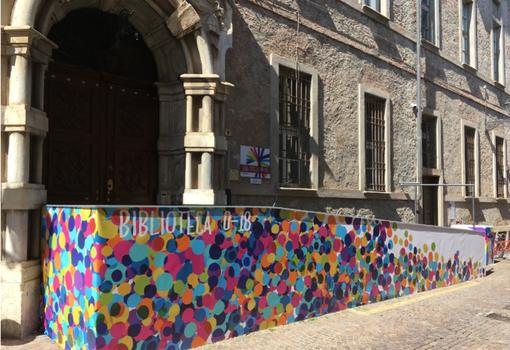 L'entrata di palazzo Santacroce - foto da Googlemaps