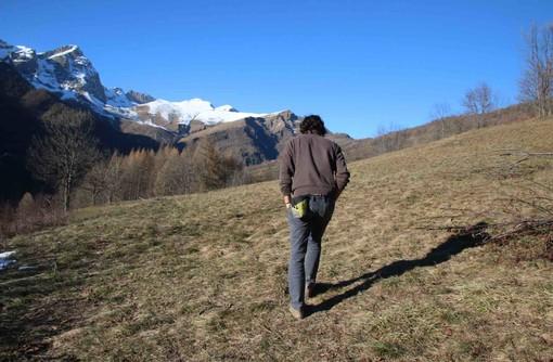 Un'area montana della provincia di Cuneo