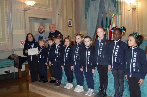 Premiate in municipio le giovani atlete della Società Ginnastica Mondovì