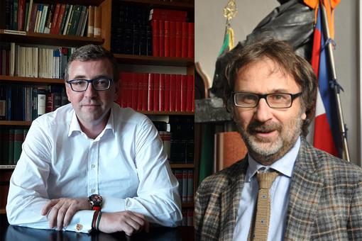 Maurizio Paoletti e Flavio Manavella