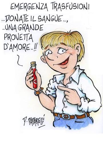 """Donare il sangue durante l'emergenza... una """"provetta"""" d'amore""""!"""