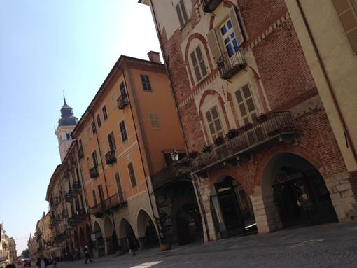 Foto generica di via Roma a Cuneo
