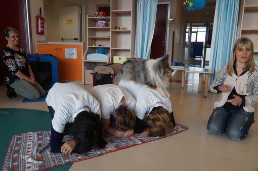 Visite a quattrozampe in Pediatria: avviata a Mondovì l'attività di pet therapy (FOTO e VIDEO)
