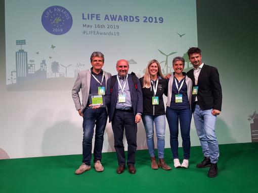 Il progetto Wolfalps del Parco Alpi Marittime ha vinto il Life Awards 2019