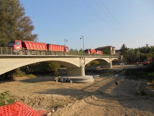 Il ponte sul Po a Cardè