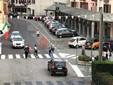 Il nuovo attraversamento pedonale su via Roma