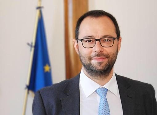 Il ministro dell'Agricoltura Stefano Patuanelli