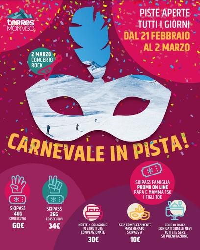Carnevale, piste aperte tutti i giorni e tanti eventi a Pian Munè di Paesana