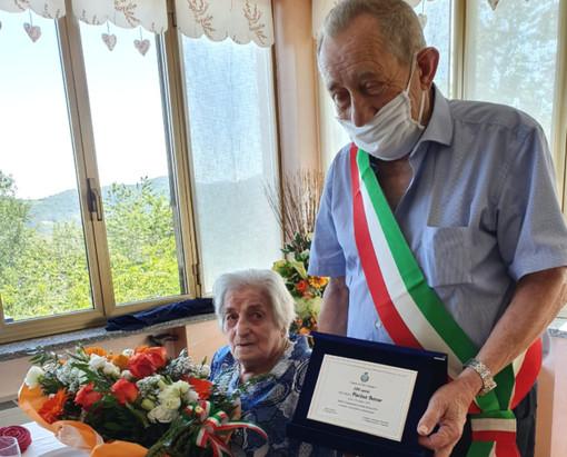 Torre Mondovì ha festeggiato i 100 anni di Pierina Benso