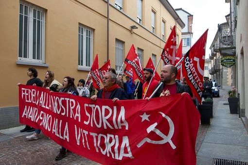 La federazione di Cuneo del Partito Comunista  ricorda il 25 aprile