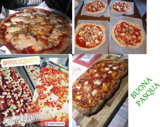 Pizza tutti insieme ma ognuno a casa propria: a Vottignasco distribuite 134 palline di impasto