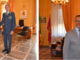 A sinistra, Ricifari con Pucciarelli e Albertario; a destra, Ricifari e Del Gaudio