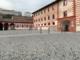 Il rendering del nuovo cortile d'onore dell'ex caserma Musso di Saluzzo