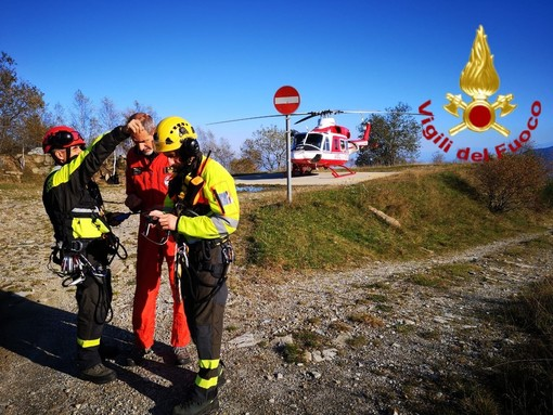 Le attività all'Unità di comando logistico allestita oggi a Montoso di Bagnolo Piemonte