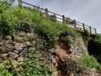 Il ponte sul Rio Bianciotto dov'è stato istituito un restringimento di corsia