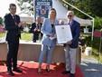 Il premio Tesi di Laurea a Laura Pontiglione (foto Paolo Destefanis)