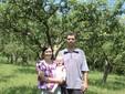 Il frutteto di meli a borgata Toschia
